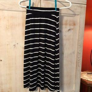 Cherokee Striped Long Skirt